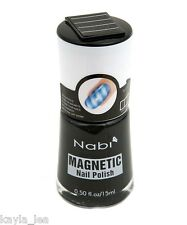 Hot New Nabi Magnetic Nail Art Polish Include Magnet Choose One From 18 Colors