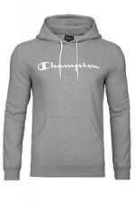NEW Champion Pullover Mens Hooded Pullover Hoodie Grey 210541-2410 Sweater
