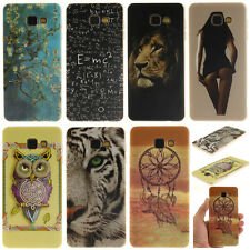Colorful Pattern Rubber Soft TPU Back Case Silicone Gel Cover For Samsung Galaxy