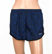 NWT Womens Nike Modern Tempo Running Shorts Dri-Fit Blue Printed Shorts Sz S XL