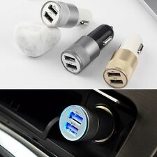 Dual 2 Port USB Car Power Charger Adapter for iPhone6/6PLUS 5S iPod Camera BE