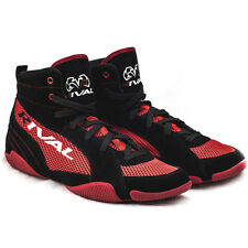 Rival Boxing Lo-Top Mesh Paneled Guerrero Boots - Black/Red