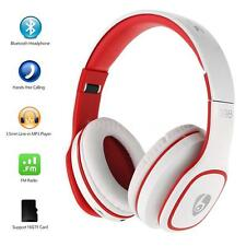 Folding Bluetooth Stereo Headset Headphone Mic TF FM MP3 for Samsung iPhone N9D3