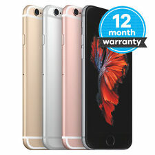 "Apple iPhone 6S/6 Plus/6/5S/4S 16GB 64GB 128GB GSM ""Factory Unlocked"" Smartphone"