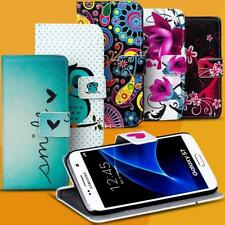 Motif Case for Samsung Galaxy Flip Protective Cover Mobile Phone Wallet