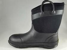 Boy's Youth WESTERN CHIEF Black Insulated Rubber Snow Rain Boots New