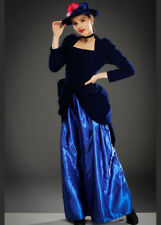Womens Blue Victorian Lady Costume