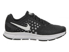 NEW WOMENS NIKE AIR ZOOM SPAN RUNNING SHOES TRAINERS BLACK / WHITE / WOLF GREY