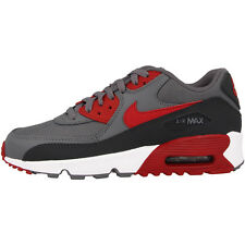 Nike Air Max 90 Mesh GS Shoes Trainers grey red 833418-007 Classic Skyline 95 97