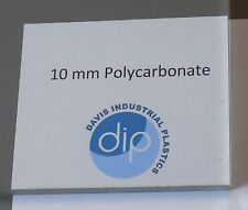 10 mm Clear POLYCARBONATE Sheet Free Post