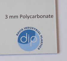 3 mm Clear POLYCARBONATE Sheet Free Post