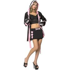 Boxing Costume Adult Sexy Boxer Outfit Halloween Fancy Dress