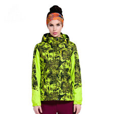 Women's 3in1 Waterproof Warm Fleece Lined Jacket Outdoor Skiing Hiking Coat Camo