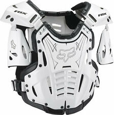 Fox Racing Airframe Chest Roost Protector Deflector White/Black