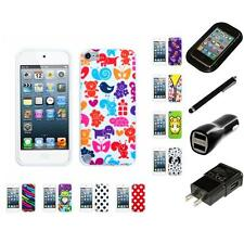 For Apple iPod Touch 5th 6th Gen TPU Design Case Phone Cover Charger Stylus
