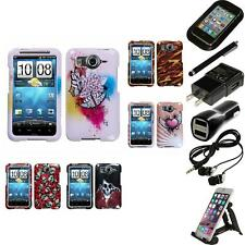 For HTC Inspire 4G Design Snap-On Hard Case Phone Cover Accessories