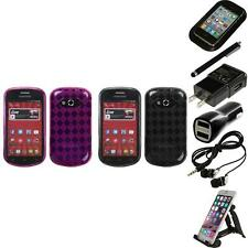 For Samsung Galaxy Reverb M950 TPU Rubber Skin Flexible Case Cover Accessories