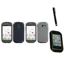 For Samsung Galaxy Exhibit T599 TPU Rubber Skin Flexible Case Cover Mount+Pen