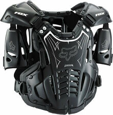 Fox Racing Airframe Chest Roost Protector Deflector Black/White