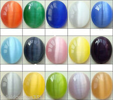 CATS EYE BEADS FIBER OPTIC 4MM COLOR CHOICE CHART 2