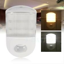 AC 220V~240V 0.6W Motion Infrared Sensor House LED Night Light Lamp EU Plug DH