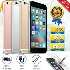 "Apple iPhone 5S / 6 / 6S - 16GB-128GB GSM ""Factory Unlocked"" Smartphone 3 Colors"