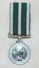 ROYAL NAVAL RESERVE LSGC Miniature Medal Elizabeth II -Long Service Good Conduct