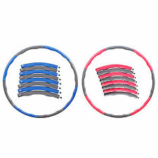 2lb / 3lb Detachable Hula Hoop Abdominal Exerciser Fitness Waist Slimming