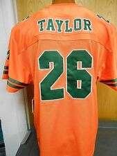 Mens Starter NCAA Miami Hurricanes Sean Taylor Football Jersey New M,L,XL,2XL