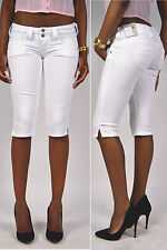 Sexy behind! PEPE Jeans VENUS T41 Crop white Cloth trousers - Shorts Capri -new