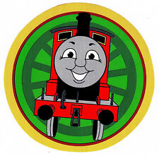 "5-8"" THOMAS THE TRAIN TANK  CHARACTER  WALL SAFE STICKER BORDER CUT OUT"