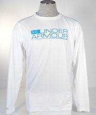 Under Armour Hydro Armour Signature White Long Sleeve Athletic Shirt Men NWT