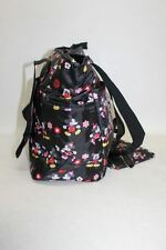 BNWT DISNEY BABY Black Floral Minnie & Mickey 3 In 1 Diaper Tote Changing Bag