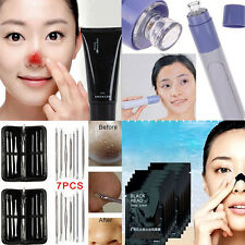 Facial Pore Cleanser Face Blackhead Zit Acne Remover Skin Cleansing Tool Sets