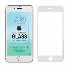 for iPhone 7 7 Plus Tempered Glass Screen Protector Soft ABS 3D Full Coverage