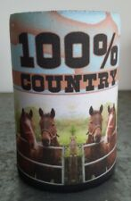 HORSE LOVER -Stubby holder- 10 DESIGNS - Choose one only - GREAT GIFT