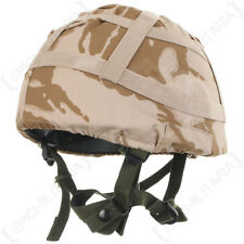 ORIGNIAL BRITISH ARMY DESERT DPM CAMO HELMET COVER - Army Surplus  Colour Option