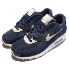 Wmns Nike Air Max 90 Blue Beige Womens Running Shoes Sneakers 325213-410