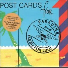 """FLESH FOR LULU Postcards From Paradise 7"""" VINYL UK Beggars Banquet 1987 With"""