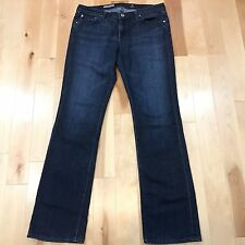 AG ADRIANO GOLDSCHMIED the BALLAD SLIM BOOT CUT JEANS 31 r WOMENS Free Shipping