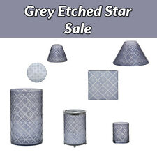 Yankee Candle Grey Etched Star Accessories Range You Choose FREE P+P