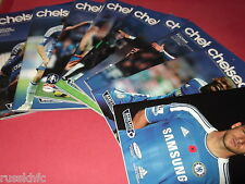 2011/12 CHELSEA HOME PROGRAMMES CHOOSE FROM