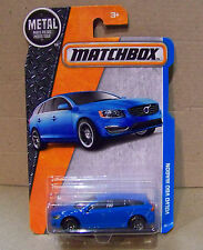 MATCHBOX VOLVO V60 WAGON IN BLUE
