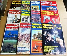 """MULTI-LIST SELECTION OF """"MILITARY MODELLING MAGAZINE""""  VOL 6  FROM YEAR 1976"""