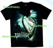 BULLET FOR MY VALENTINE T-Shirt Black Size S M L XL FEVER HEAVY METAL GIRL NUDE