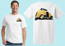 1932 Ford Deuce Roadster Tshirt  #6112 Cartoontees vintage antique auto classic