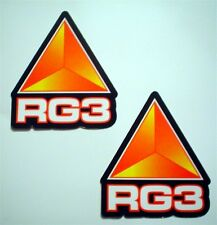 RG3 Suspension, Triple Clamps Racing Sponsor Stickers/Decals Front Fork Size '17