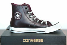 New All Star Converse Chucks Hi Leather Trainers Well Worn 141061c Size 36