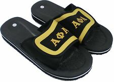 Alpha Phi Alpha Strapped Mens Flip Flop Sandals