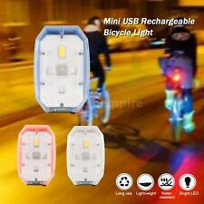 Mini Compact Bike Cycling Bicycle Light USB Rechargeable LED Front Light L7P5